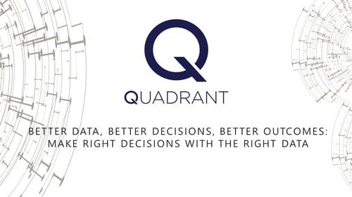 Better Data Better Decisions Better Outcomes