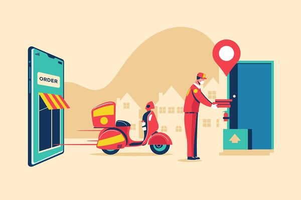 Why do you need accurate POI for food delivery?