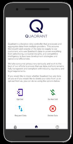 Mobile Consent Management Platform for CCPA Compliance